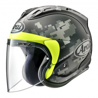 Casque Jet Arai SZ-R Vas Mimetic Black