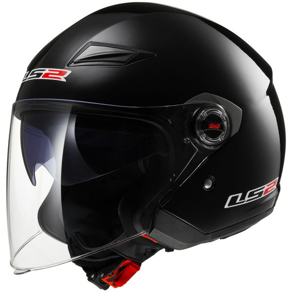 Casque Jet LS2 Track Black OF569
