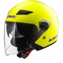 Casque Jet LS2 Track H-V Yellow OF569
