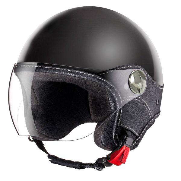 Casque Jet Laura Smith Trendy Vision Noir Mat