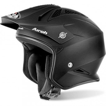 Casque Jet Airoh TRR S Black Matt