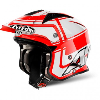 Casque Jet Airoh TRR S Wintage Red
