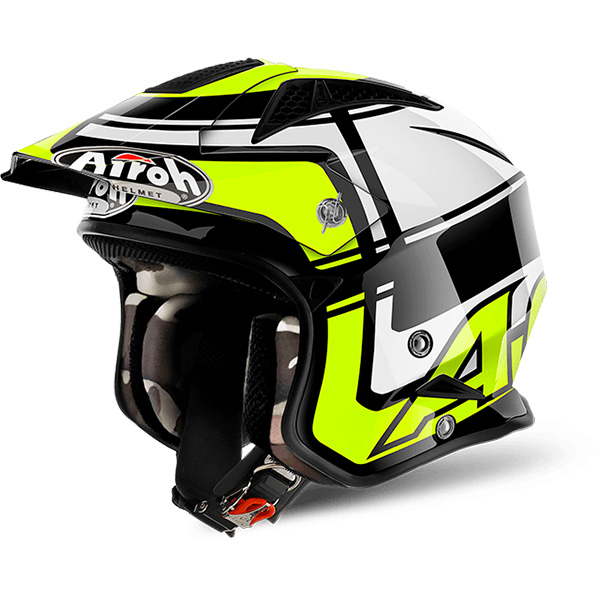 Casque Jet Airoh TRR S Wintage Yellow