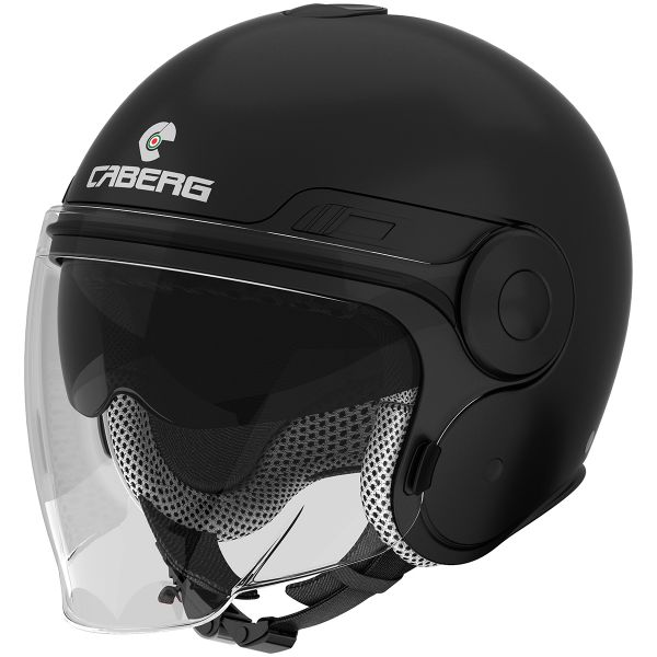 Casque Jet Caberg Uptown Matt Black