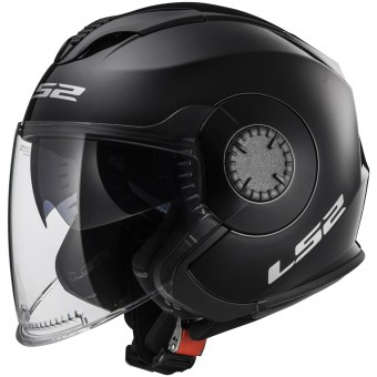 Casque Jet LS2 Verso Black OF570