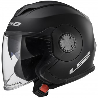 Casque Jet LS2 Verso Matt Black OF570
