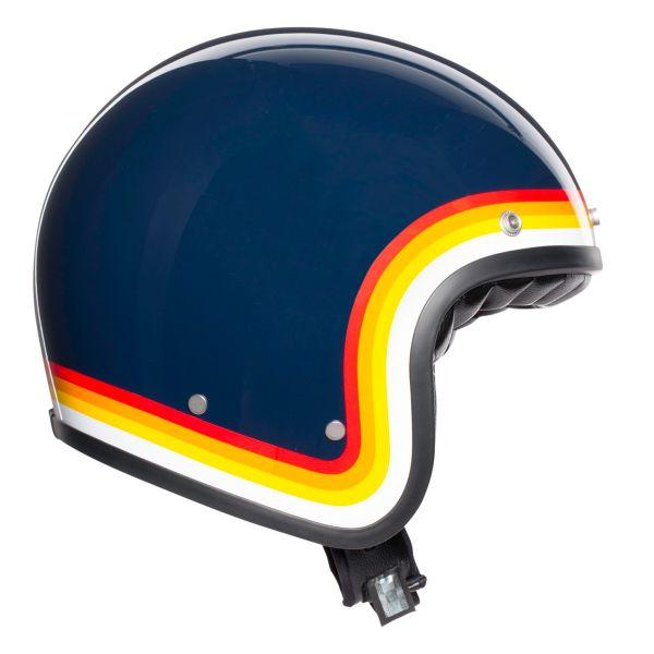 AGV X70 Riviera Bleu Rainbow