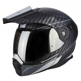 Casque Modulable Scorpion ADX-1 Dual Matt Black Silver