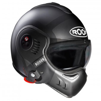 Casque Modulable Roof Boxer V8 Bond Matt Titan Silver