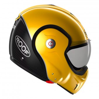 Casque Modulable Roof Boxxer Carbon Yellow