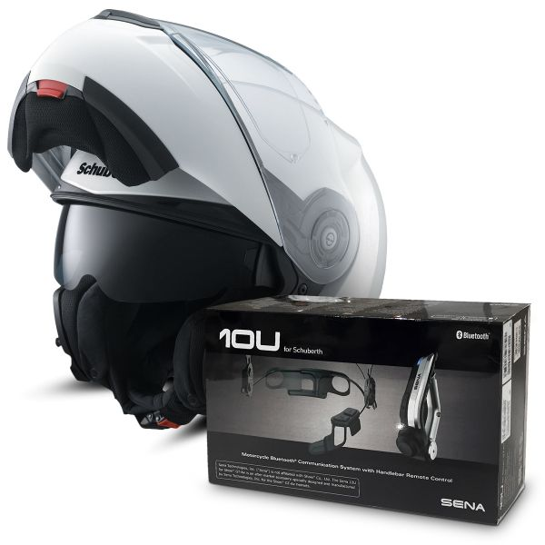 casque schuberth c3 pro blanc kit bluetooth sena 10u au meilleur prix. Black Bedroom Furniture Sets. Home Design Ideas