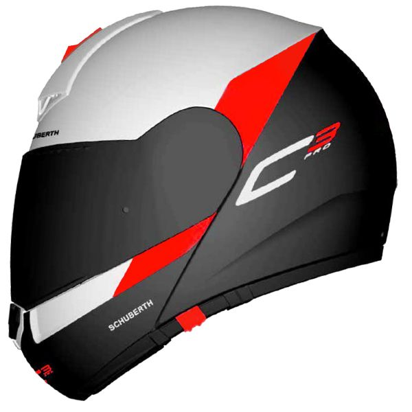 casque schuberth c3 pro gravity red en stock. Black Bedroom Furniture Sets. Home Design Ideas