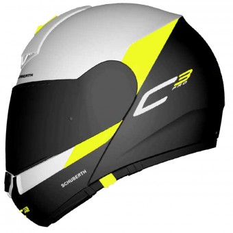 Casque Modulable Schuberth C3 Pro Gravity Yellow