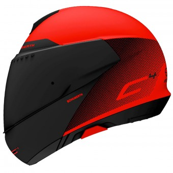 Casque Modulable Schuberth C4 Resonance Red