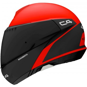 Casque Modulable Schuberth C4 Spark Red