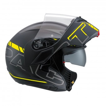 Casque Modulable AGV Compact ST Vermont Yellow Fluo Black