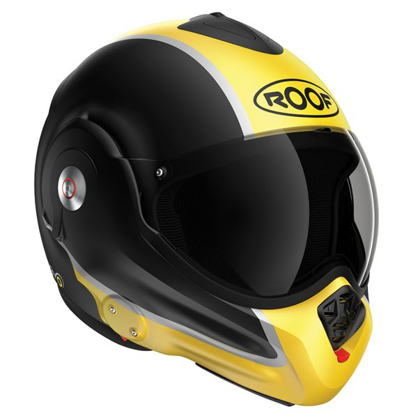 Roof Desmo Flash Mat Black Yellow 3e Generation