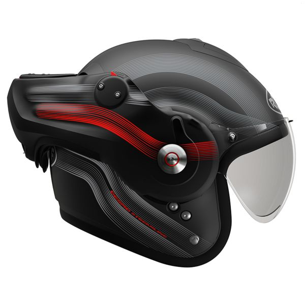 Roof Desmo Streamline Matt Black Titan Red 3e Generation
