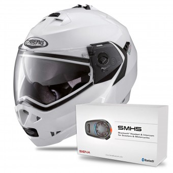 Casque Modulable Caberg Duke II + Kit Bluetooth Sena SMH5