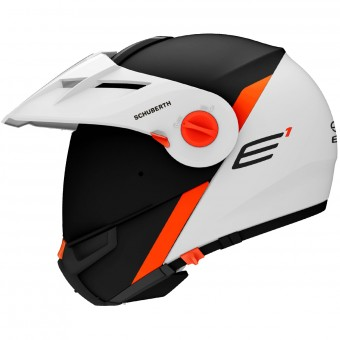 Casque Modulable Schuberth E1 Gravity Orange