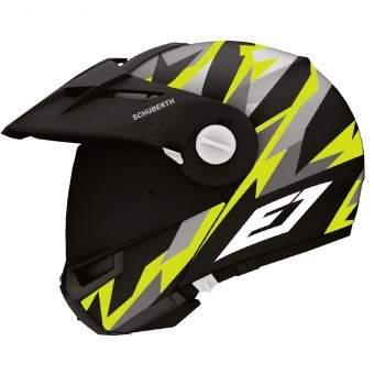 Casque Modulable Schuberth E1 Rival Yellow