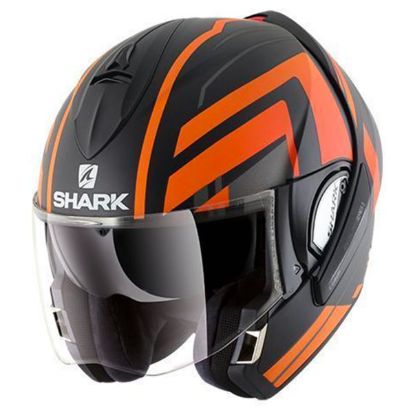 Casque Modulable Shark Evoline Serie 3 Corvus Mat KAO