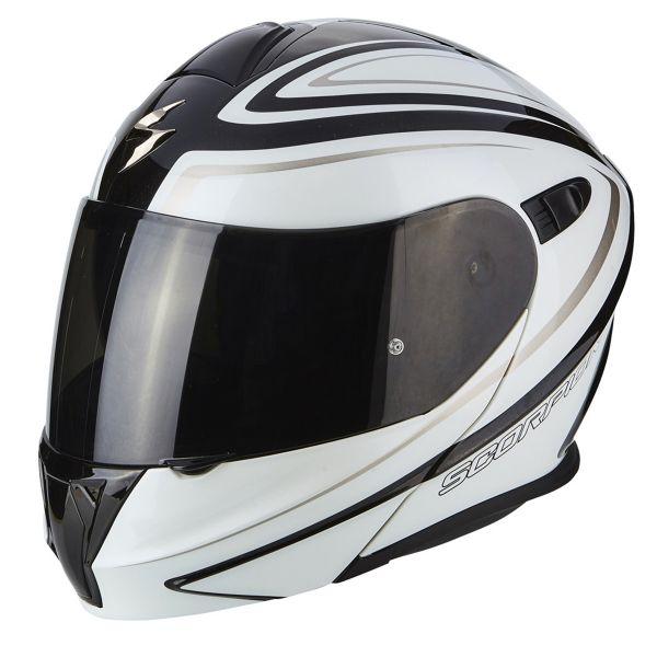 Casque Modulable Scorpion Exo 920 Ritzy Black White