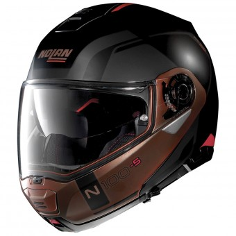 Casque Modulable Nolan N100 5 Consistency N-Com Flat Black Copper 28