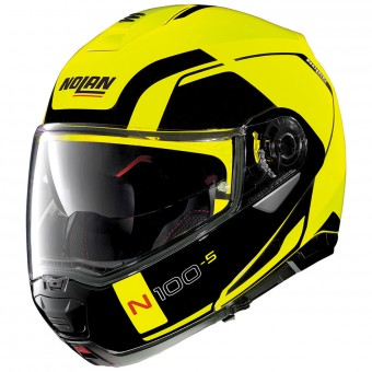 Casque Modulable Nolan N100 5 Consistency N-Com Led Yellow 26