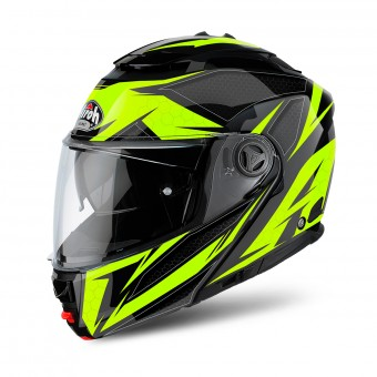 Casque Modulable Airoh Phantom S Evolve Yellow