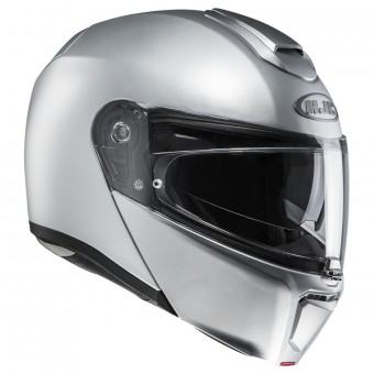 Casque Modulable HJC RPHA 90 Semi Flat Silver