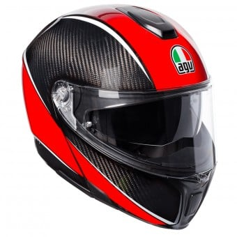 Casque Modulable AGV Sportmodular Aero Carbon Red