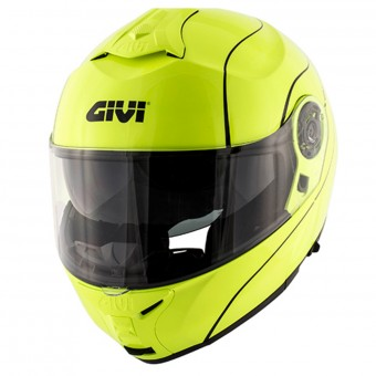 Casque Modulable Givi X.21 Challenger Neon Yellow