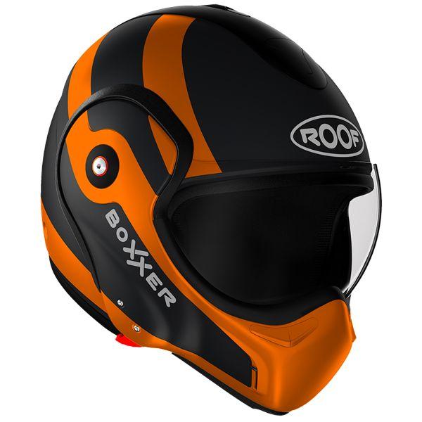 Casque Modulable Roof Boxxer Fuzo Black Orange Matt