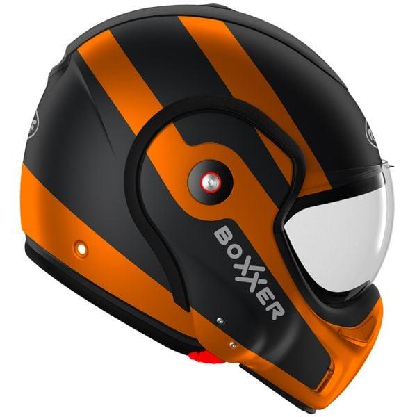 Roof Boxxer Fuzo Black Orange Matt