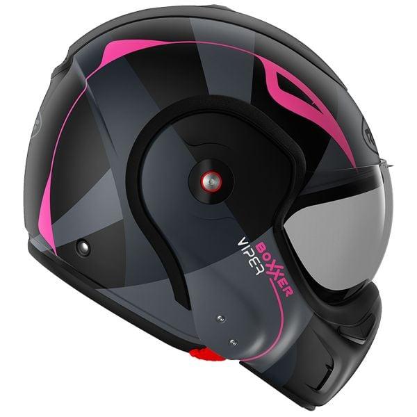 Roof Boxxer Viper Black Pink Matt