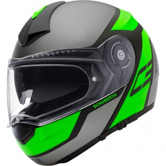Casque Modulable Schuberth C3 Pro Echo Green