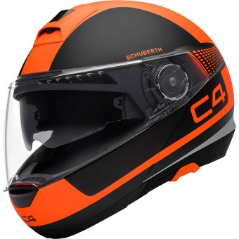 Casque Modulable Schuberth C4 Legacy Orange