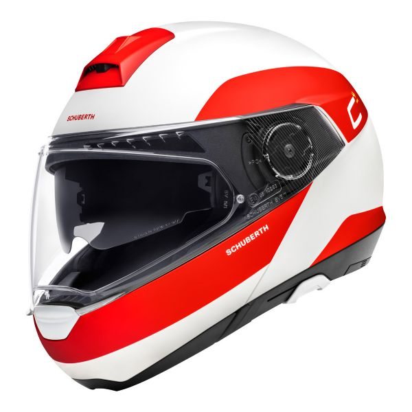 Casque Modulable Schuberth C4 Pro Fragment Rouge
