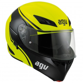 Casque Modulable AGV Compact ST Course Yellow