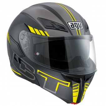 Casque Modulable AGV Compact ST Seattle Matt Yellow Fluo