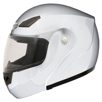 Casque Modulable MT Coyote Solid Blanc