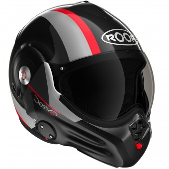 Casque Modulable Roof Desmo Ram Black Red 3e Generation