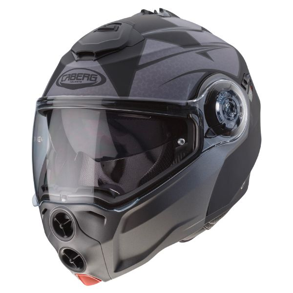 Casque Modulable Caberg Droid Patriot Noir Matt Anthracite