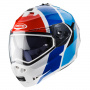 Casque Modulable Caberg Duke II Impact White Red Blue