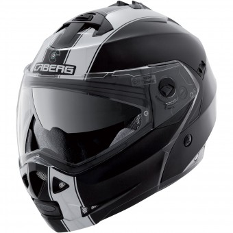 Casque Modulable Caberg Duke II Legend Black White