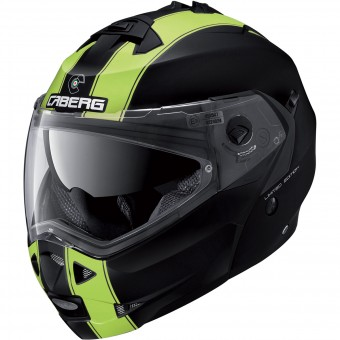 Casque Modulable Caberg Duke II Legend Matt Black Yellow Fluo