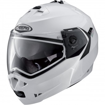Casque Modulable Caberg Duke II Metal White