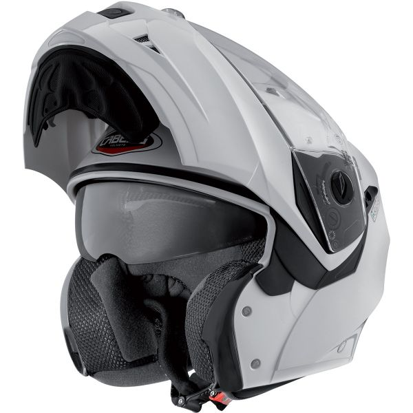 Caberg Duke II Metal White + Kit Bluetooth Sena SMH5