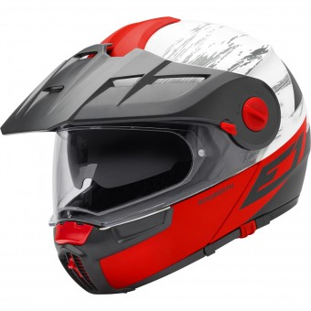 Casque Modulable Schuberth E1 Crossfire Red
